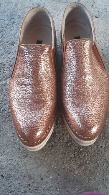 Cipele na platformu - Srbija: Prelepe cipele na platformu kožne dva puta nosene, Nemačke marke ZINDA