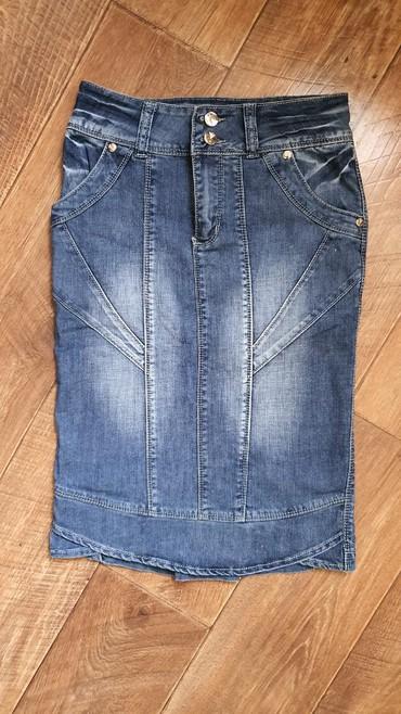 стильную джинсовую юбку в Кыргызстан: Продаю джинсовую юбку. ПроизводствоКитай. Качество джинсы отличное