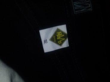 Crne dublje ženske pantalone.Nove. - Razanj