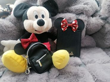 Disney setMiki Maus igračka visina 60cmMini Maus futrola za pasošMini