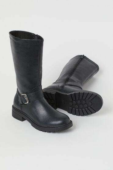 lipuçkalı kişi ayaqqabısı - Azərbaycan: H&M firmasinin ayaqqabisi(sapoq,bot). Yenidir. Temiz deridir(suni