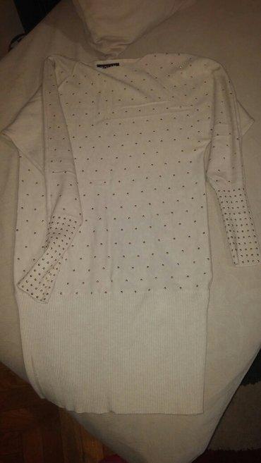 Boja krem sako - Srbija: Haljina ili tunika sa sjajnim nitnama, krem boje, univerzalne