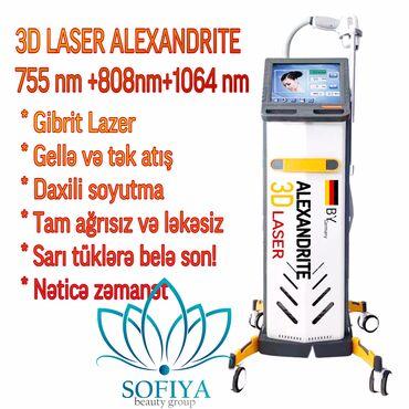 3D Max Lazer Qiymət AZNlədir. 3D Alexandrite Laser Sizə rahat