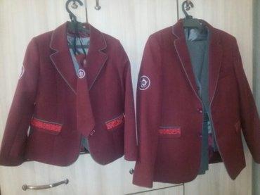 Школьная форма для девочки 34 размер в идеальном состоянии. Одевали то в Бишкек