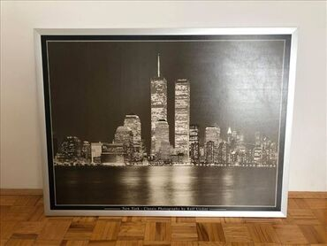 Ikea slika New York-a, Twin Towers u dimenziji 120x90, sa