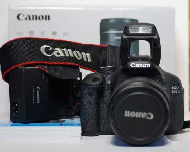 canon eos 600d kit в Кыргызстан: Продаю Canon EOS 600D  EF-S 18-55mm f/3.5-5.6 III  Состояние идеал.  П