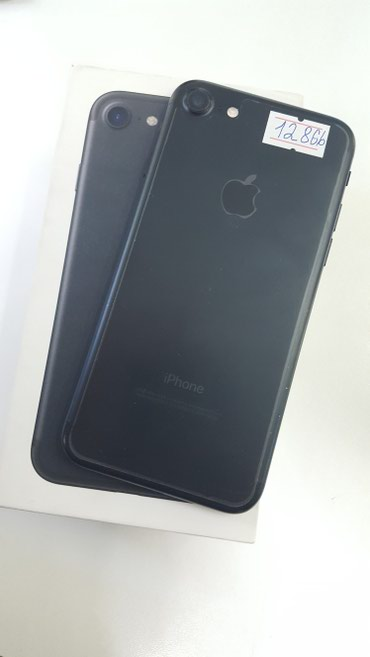 Продаю Apple iPhone 7 128Gb Black Matte в в Бишкек