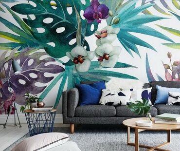 Рисуем на стенах, креативно, быстро, 1 кв.м