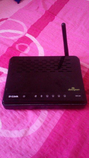 D-link wifi ruter 150kbps. Daje veoma dobar i pouzdan signal. - Leskovac