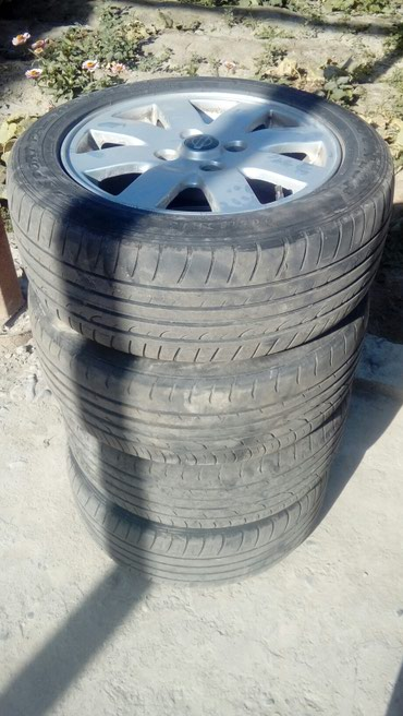 решетка радиатора опель инсигния в Кыргызстан: 4 шт литие диски r 16 с летним резинами 205/55/16 на примера стояли