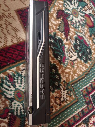 Видео- и звуковые карты - Бишкек: Sapphire rx 580 series oc nitro+ 8gb! В идеальном состоянии. С
