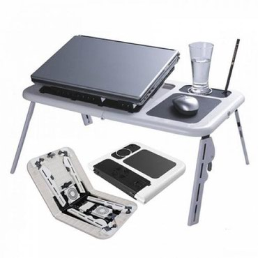 Столик для ноутбука с охлаждением в Бишкек