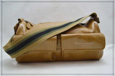 Kozna torba dimenzije - Srbija: Marc O'Polo - Original kozna torba vrhunska izrada, kvalitetNOVO -