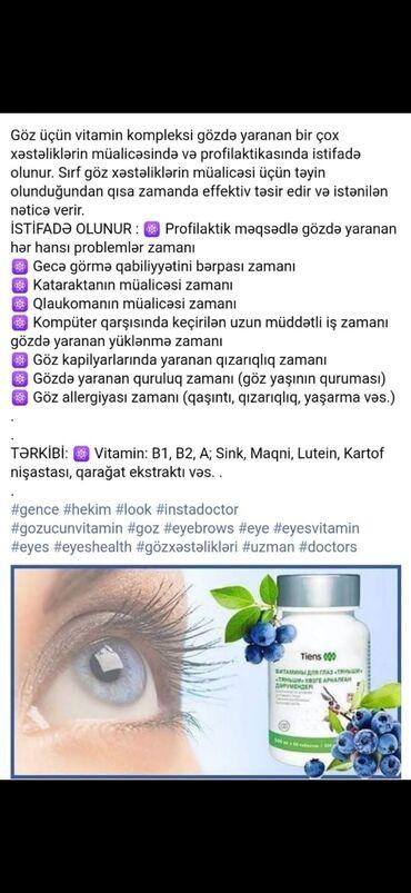 Vitaminlər və BAƏ - Goranboy: Vitaminlər və BAƏ