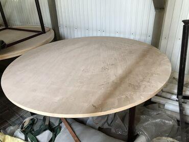 Дом и сад - Кыргызстан: Срочно продаём круглые банкетные столы  и стулья вотсап;