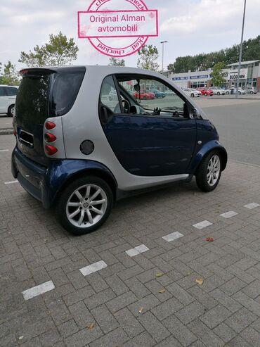 avtomobil elektrik - Azərbaycan: Smart Fortwo 0.8 l. 2006 | 184254 km
