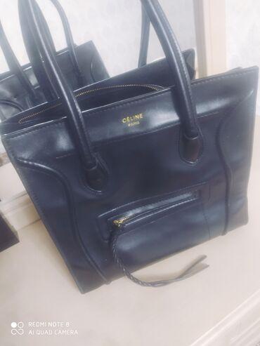Сумки - Кыргызстан: Продаю кожаную сумку от Сeline! В отличном состонии,очень удобная и