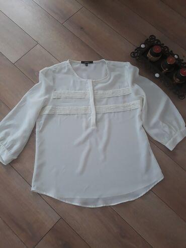 Продаю красивую белую блузку Kotton. Состояние идеальное! Размер 46!