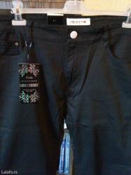 Pantalone m tamno braon imaju dva zakopcavanja napred - Srbija: Nove zenske pantalone za punije miss cherry. Turske. Vrlo dobre zenske