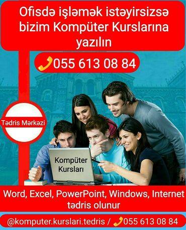 Kompüter kursları   Microsoft Office   Qrup