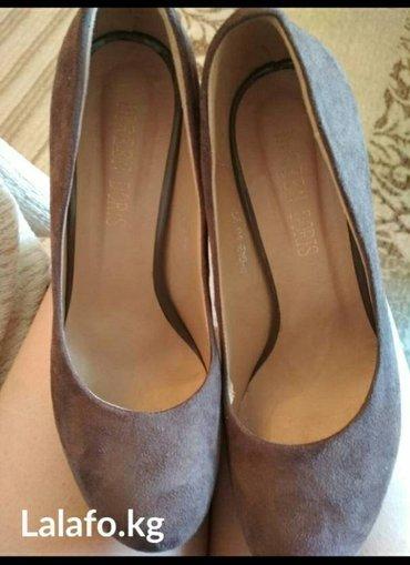 замшевые туфли вечерние в Кыргызстан: Замшевые новые туфли, размер 39. цена договорная