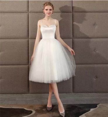 Новое свадебное платье,хорошего качества! Размер S(42) в Бишкек