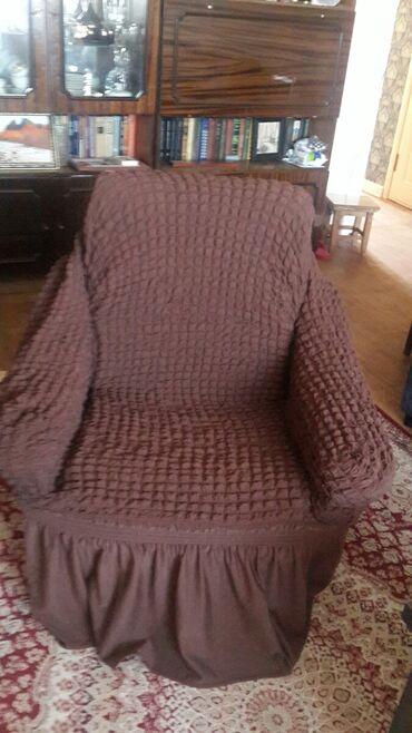 dva divan kresla в Кыргызстан: Накидки на диван и 2 кресла. Отличное состояние. Цена 1500 сом