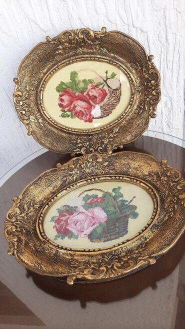 Slike | Nis: Vilerovi gobleni, uramljeni, ocuvaniStari oko 35 godinaOba su 150e