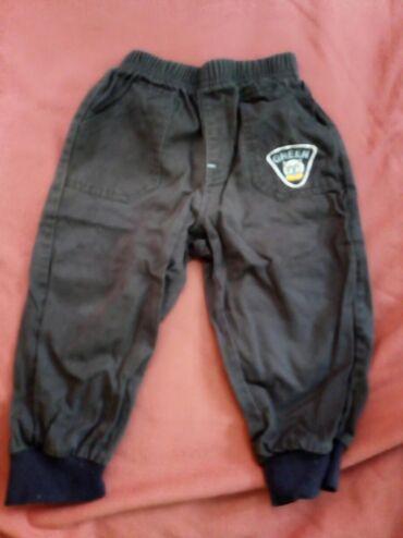 Farm - Srbija: Crne pamucne pantalone vel.3