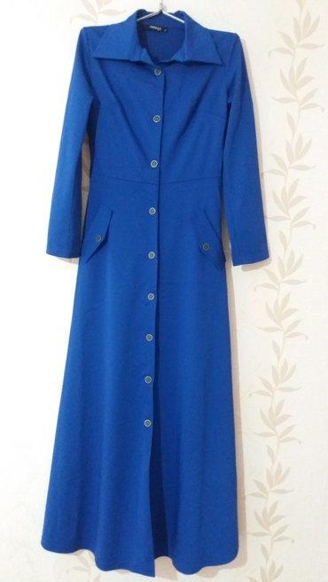 Новое платье, размер 44-46, произ-во Турция. Есть ремень. в Бишкек