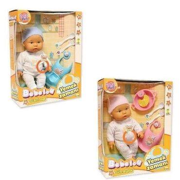 Lutka Beba set za hranjenje je set koji čine simpatičnabebica i pribor