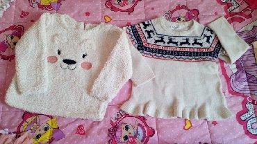 Novi džemperi za devojčice, za uzrast 4-6godina, nisu nošeni, samo opr