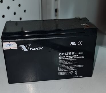 Аккумуляторная батарея Vision 12v 9 AH