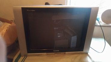 телевизор 72 диагональ в Кыргызстан: Продаю телевизор Panasonic 100 Герц, диагональ 72 см. В хорошем