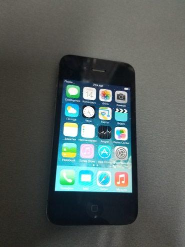 IPhone 4S 8gb black. CDMA, симка не ставится, в Бишкек