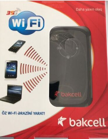 Bakcell wi-fi (nömrəsiz) - 20 AZNBakcell data kart (nömrəsiz) - 10 AZN