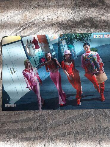 тиенс групп бишкек в Кыргызстан: Постер k-pop группы Mamamoo
