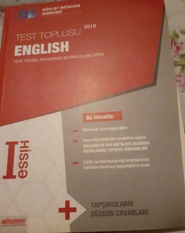İngilis dili test toplusu 1 ci hisse 2 kitab alana biri 3 manata dusur