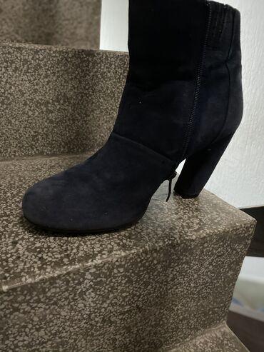 Cizme 40 - Srbija: Malo nosene kratke teget cizme