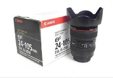 фотоаппарат praktica в Кыргызстан: Продаётся объектив canon 24-105 F4 L коробка документы идеальное