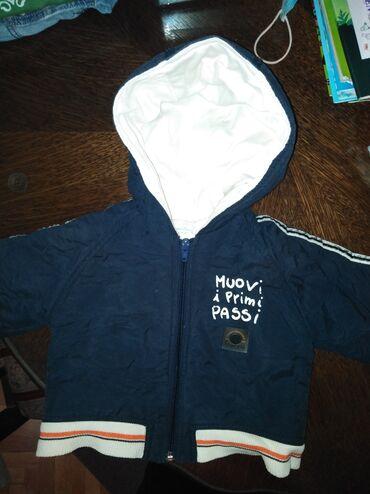 Dečija odeća i obuća | Zrenjanin: Decija muska jaknica CHICCO vel. 74