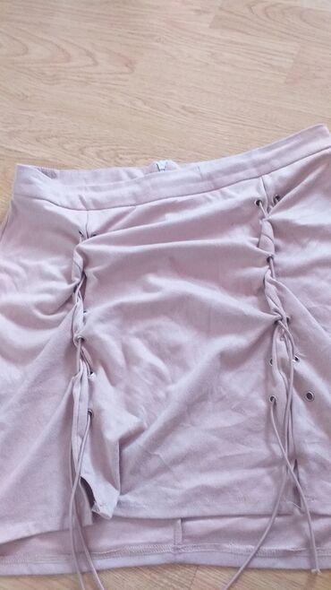 Ženska odeća | Novi Pazar: Mini suknja koja ce veze ma resama sa strana jako moderna skupo