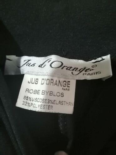 Haljine | Negotin: Strukirana haljina do kolena, ocuvana, deblji materijal