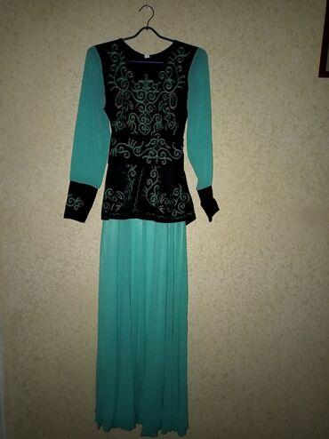 вечернее платье синий цвет в Кыргызстан: Кыргыз койнок размер 42Новый качественныйЦвет синийДоставка по городу