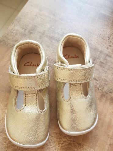 Детские туфли CLARKS/Англия, НОВЫЕ. Натуральная кожа. Размер 20. Очень