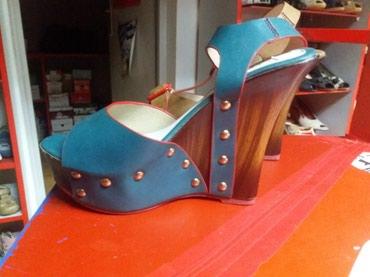 Nove zenske sandale sa ortopedskom petom,visina pete je 13 cm - Belgrade