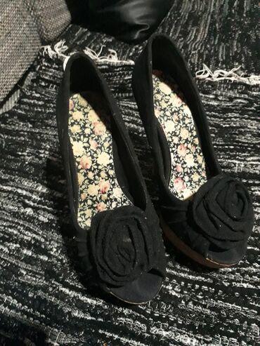 Ženska obuća   Vrbas: Cipele na štiklu sa platformom u odličnom stanju,veličina 37.Cena 500