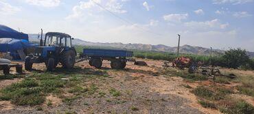 Traktor mtz 89.2 Pres bağlayan rus Taxıl səpən türk Kübrəsəpən türk La