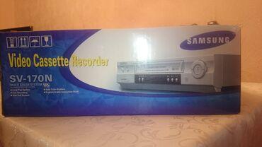 dvd плеер samsung в Азербайджан: Samsung Video Cassette Recorder SV 170N. yeni