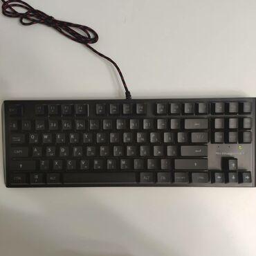 Клавиатуры в Кыргызстан: Мембранная клавиатура. С подсветкой (можно делать разные цвета, как на